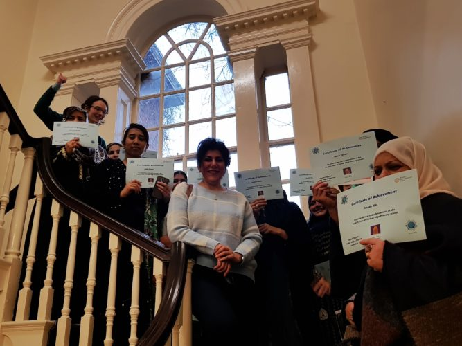 English Conversation Class learners visit Meersbrook Hall